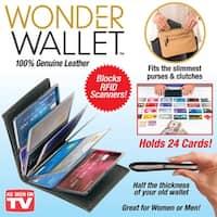 As Seen On Tv Wonder Wallet Black