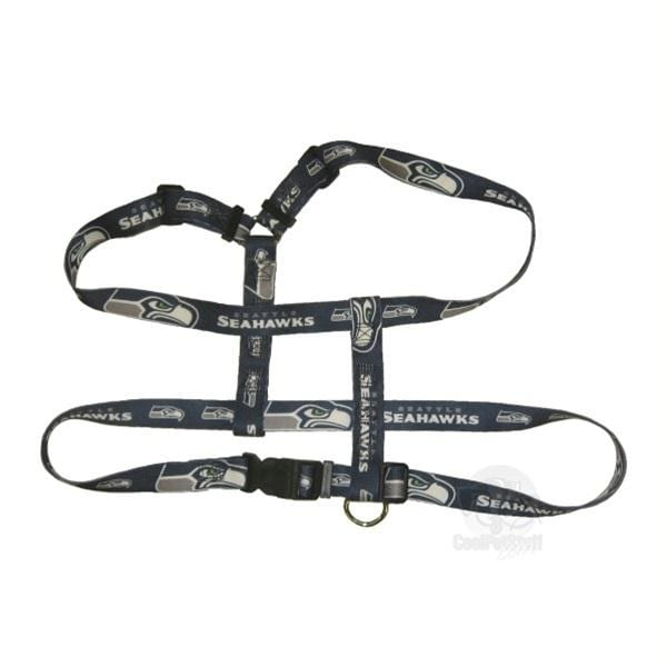 shop seattle seahawks pet harness - x-small