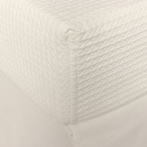 Cottage Home Waffle Box Spring Cover