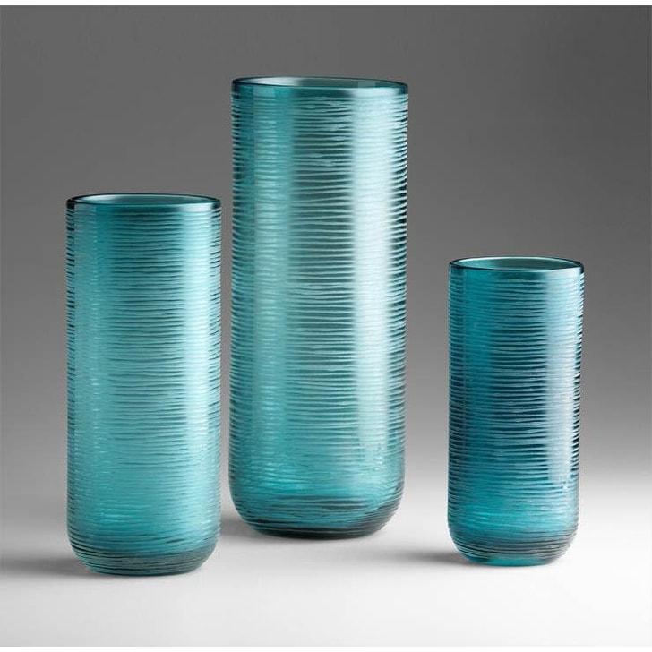 Aqua 04361 Cyan Design Large Round Libra Vase