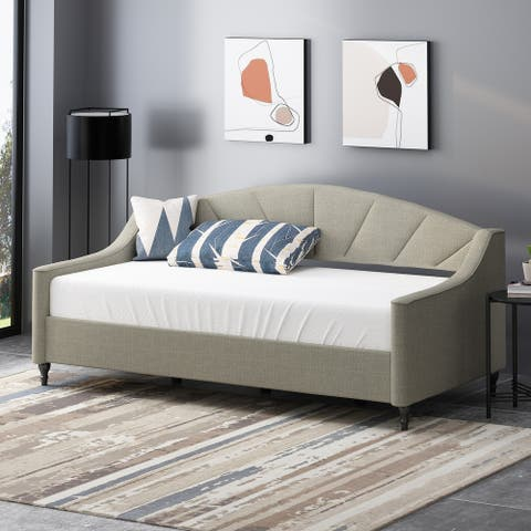 Mavert Contemporary Tufted Upholstered Daybed by Christopher Knight Home