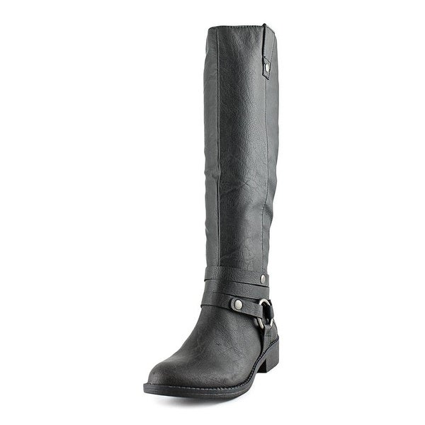 Style & Co Amber Boot Round Toe Synthetic Knee High Boot - 6.5