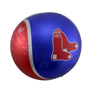 14 Inch Diameter Yall Ball Boston Red Sox Inflatable Bouncy Ball - Multicolored