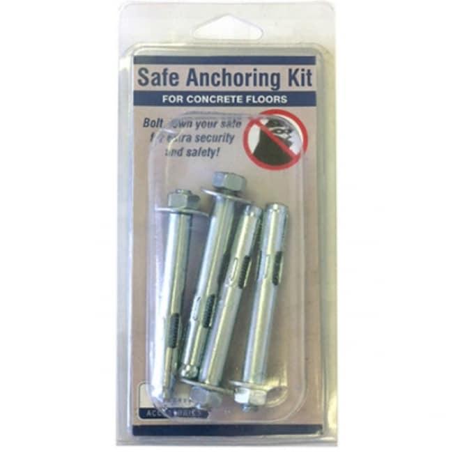 Liberty Safe 10915 Heavy Duty Concrete Gun Safe Anchoring Kit