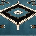 "Allstar Light Blue Woven High Quality Rug. Traditional. Persian. Flower. Western. Design Area Rug (3' 9"" x 5' 1"") - Thumbnail 3"
