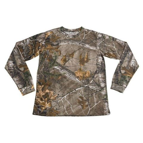 Mens Camo 100% Cotton Full Sleeve Hunting Zone Shirt HS