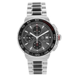 Tag Heuer Men's 'Formula 1' CAU2011.BA0873 Ceramic Chronograph Link Watch