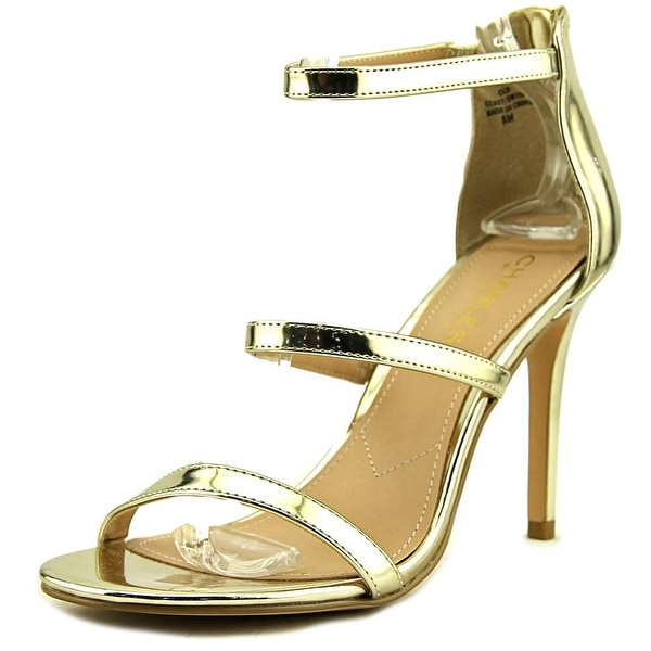 Charles By Charles David Ria Women Gold Sandals
