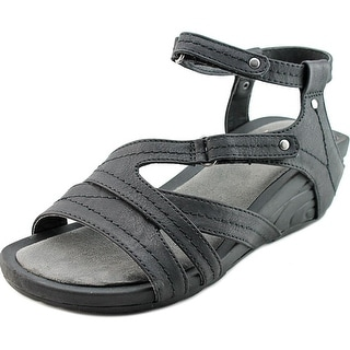 Baretraps Belina Women  Open Toe Synthetic Black Wedge Sandal