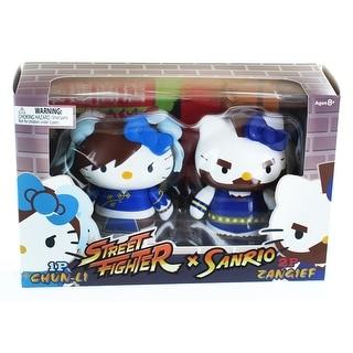Hello Kitty Street Fighter 2 Figure Pack ChunLi & Zangief - multi