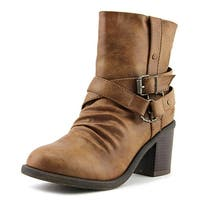 Blowfish Moran Women  Round Toe Synthetic Brown Ankle Boot