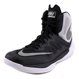Nike Prime Hype DF II Men Round Toe Synthetic Black Basketball Shoe