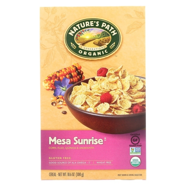 Nature's Path Organic Mesa Sunrise Flakes Cereal - Case of 12 - 10.6 oz.