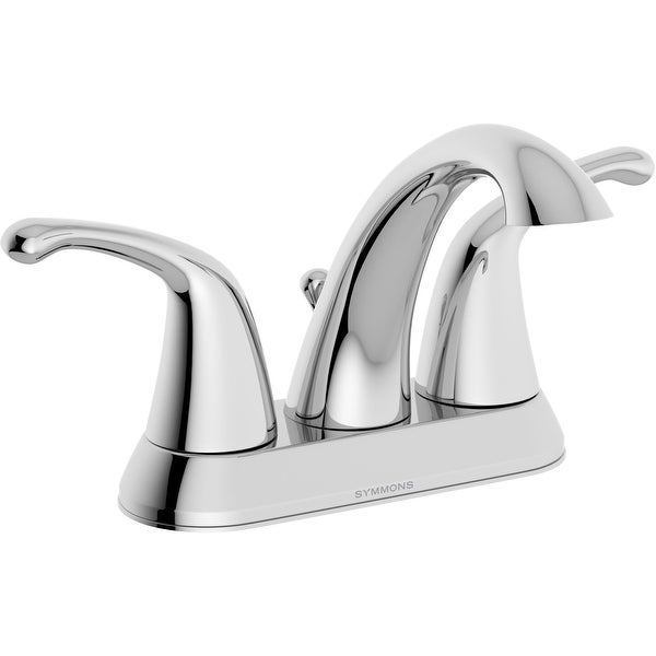 Symmons SLC-6612-1.0 Unity 1 GPM Centerset Bathroom Faucet with Pop-Up Drain Assembly