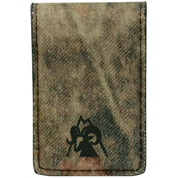 Rocky Wallet Mens Money Clip Mossy Oak Polyester Magnetic Camo - One size