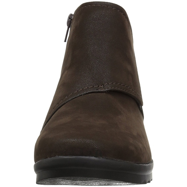 CLARKS Womens Caddell Rush Closed Toe Ankle Cold Weather Boots