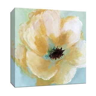 """PTM Images 9-147881  PTM Canvas Collection 12"""" x 12"""" - """"Soft Sunday III"""" Giclee Flowers Art Print on Canvas"""