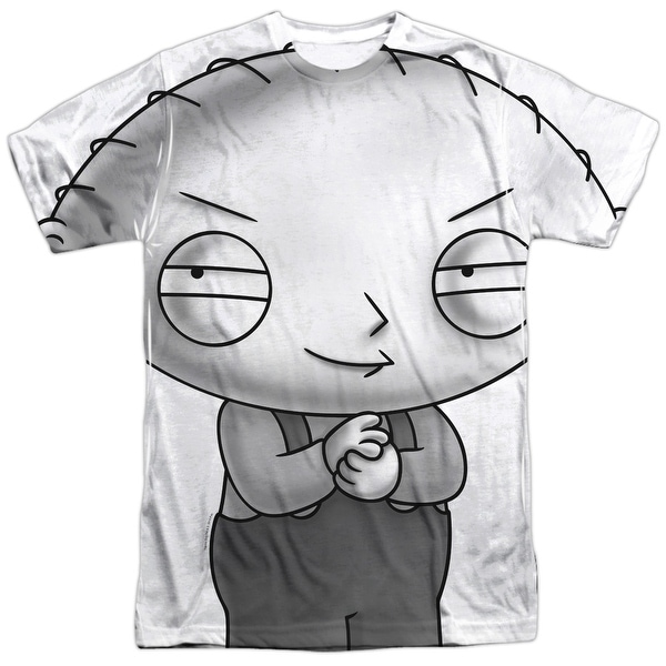 92c8fe8a5ff54 The Family Guy Stewie Head Mens Sublimation Shirt