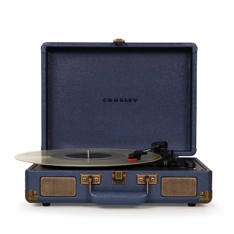 """Cruiser Deluxe Turntable - 13.78""""W x 10.24""""D x 4.72""""H"""