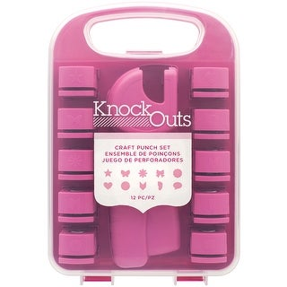 Knock Outs Tool & Craft Punch Set