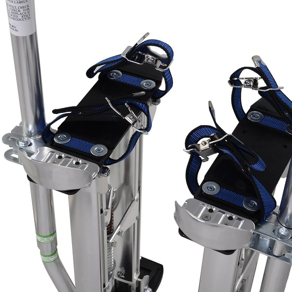 """Drywall Stilts Aluminum Tools Painting Painter 18-30/"""" Taping Silver Adjustable"""