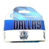 Dallas Mavericks Rubber Wrist Band (Set of 2) NBA