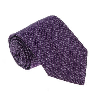 Missoni U4805 Purple/Navy Pencil 100% Silk Tie - 60-3