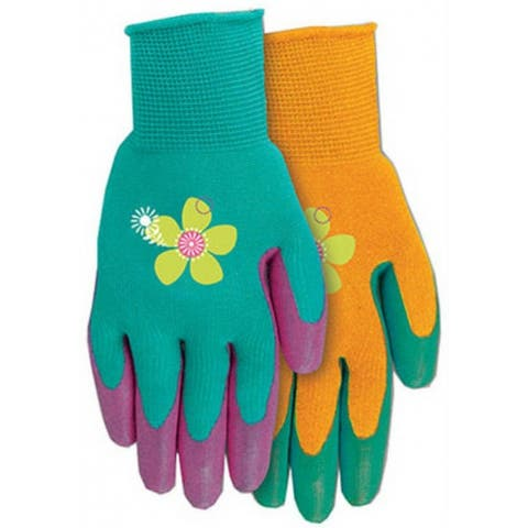 MidWest 67D4-M Grip Mate Ladies Gripping Glove, Assorted Colors, Medium