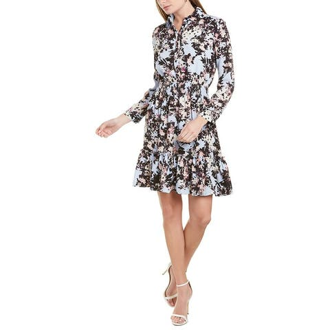 Taylor Printed Shirtdress