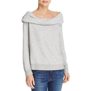 Soft Joie Womens Mock Sweater Terry Cowl Neck