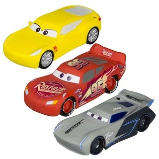 Set of 3 Disney Cars McQueen, Storm and Cruz Dive Characters Swimming Pool Toys 4.5