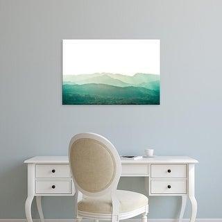 Easy Art Prints Keri Bevan's 'A Watercolor Wash of Light Crop' Premium Canvas Art