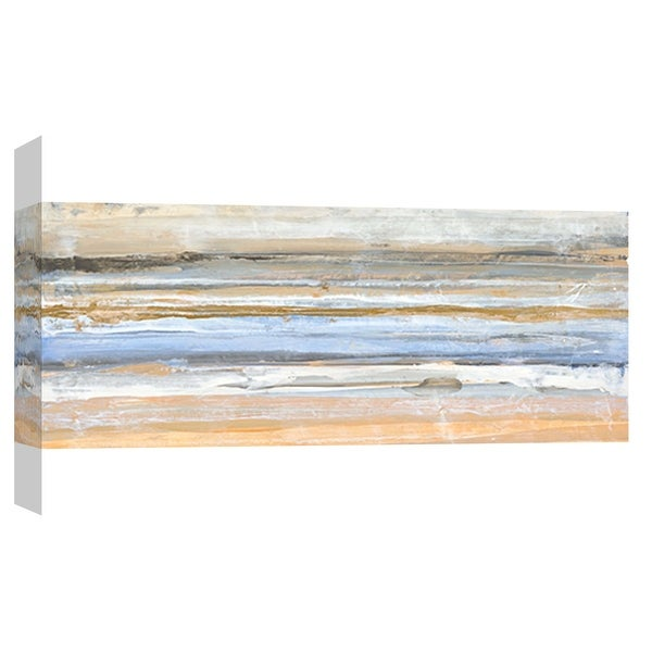 "PTM Images 9-101906 PTM Canvas Collection 8"" x 10"" - ""Banded 1"" Giclee Abstract Art Print on Canvas"