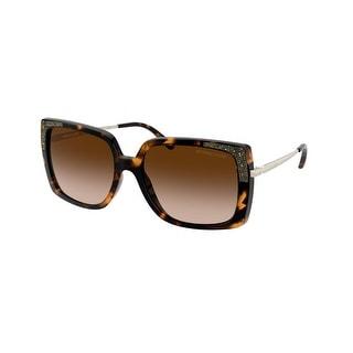 Link to Michael Kors MK2131 333313 56 Dark Tortoise Woman Square Sunglasses Similar Items in Women's Sunglasses