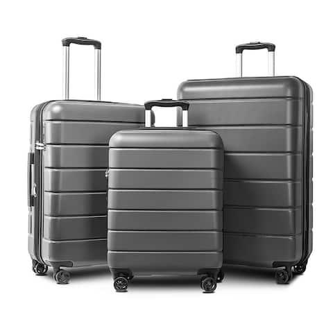 "Luggage sets Suitcase Lightweight TSA Lock Spinner 20"" / 24"" / 28"""