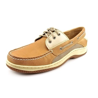 Sperry Top Sider Billfish 3-Eye Men Moc Toe Leather Tan Boat Shoe