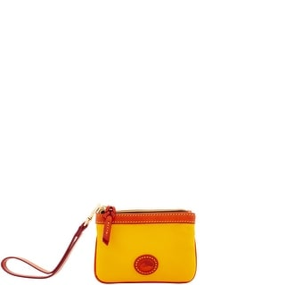 Dooney & Bourke Nylon Medium Wristlet (Introduced by Dooney & Bourke at $58 in Feb 2017) - Yellow