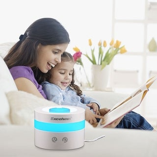 Ultrasonic Humidifier Air Aromatherapy Atomizer Essential Oil Aroma Diffuser - White