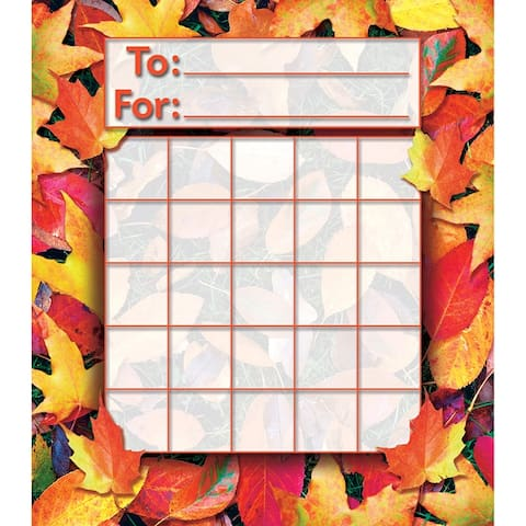Fall Leaves Mini Incentive Charts