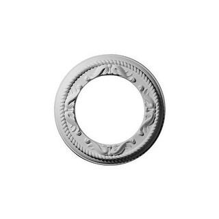 """Ekena Millwork CM12ME 12.25"""" Wide Roped Medway Ceiling Medallion"""