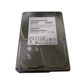 """Hitachi Ultrastar A7K2000 1TB 7200 RPM 3.5"""" SATA Hard Drive, Silver (Refurbished)"""