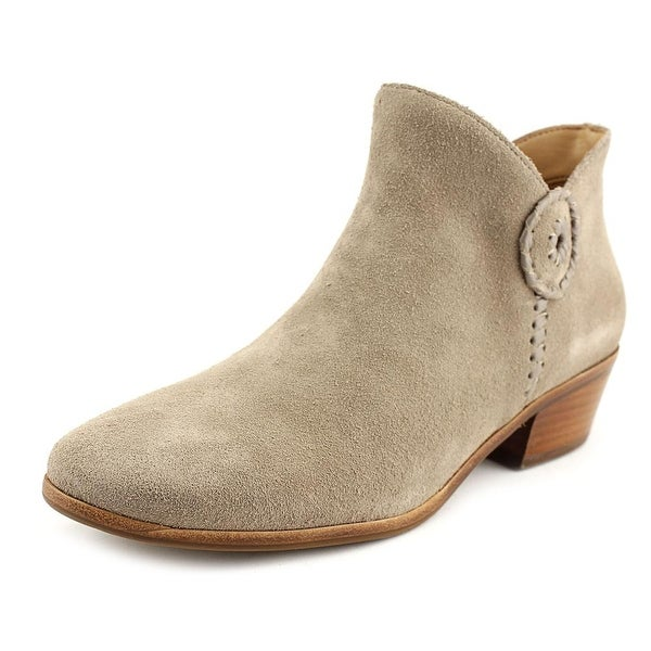 Jack Rogers Peyton Round Toe Suede Ankle Boot