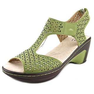 JBU by Jambu Chloe Women Open-Toe Leather Slingback Sandal