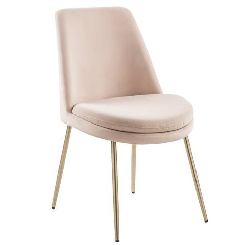 Furniture R Upholstered Round Back Dining Chair