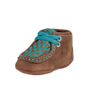 Blazin Roxx Western Shoes Girls Cassidy Chukka Baby Buckers