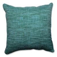 """25"""" Calypso Blue Caribbean Lagoon Decorative Outdoor Corded Throw Pillows"""