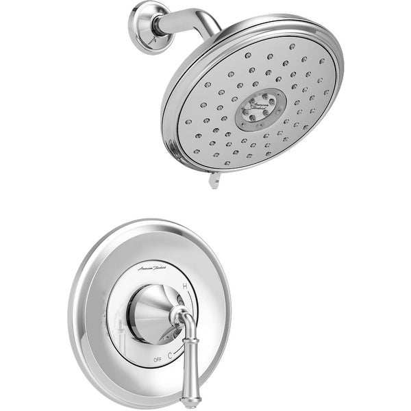 American Standard TU052.507 Delancey Shower Only Trim Package with 1.8 GPM Multi Function Shower Head