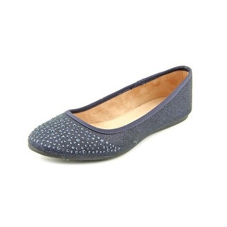 Style & Co Angelynn Women Round Toe Synthetic Blue Flats