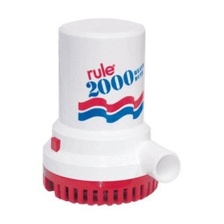 Rule 10 Pump Bilge, 2000 GPH, 12 V