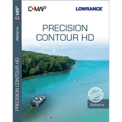 Lowrance c-map precision contour hd alabama